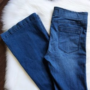 Free People Pull On Flare Boho Stretch Jeans 29